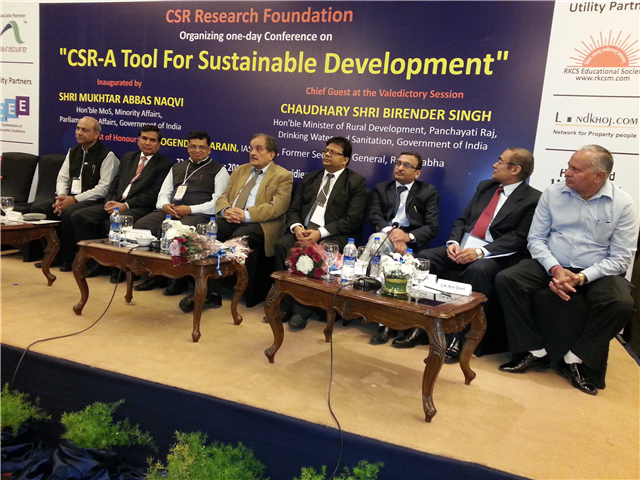 Valedictory Function of Conference on CSR  -Tool for Sustainable Development