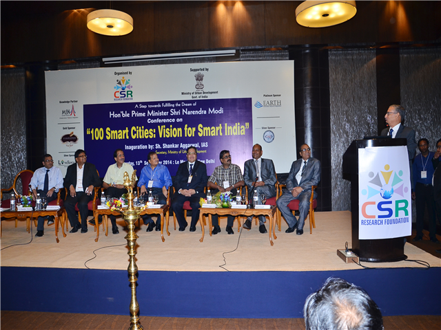 Conference conducted by URS CSR Foundation for the vision of Smart India at LE MEREDIAN