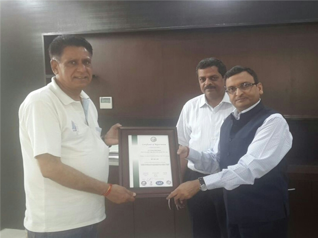 GD Goenka Public School Achieved ISO 14001, ISO 9001 Certificate Awarded by URS Cert
