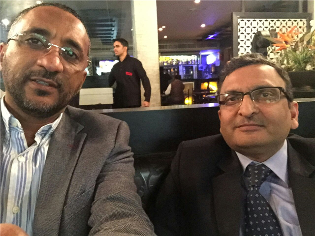 Business Meeting with Mr Atif of Sudan