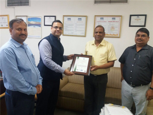 URS Certified Integrated Management System of NHPC Ltd