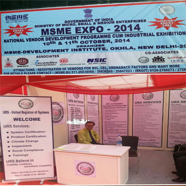 URS CO-ASSOCIATED WITH MSME, GOVT OF INDIA IN NATIONAL VENDOR DEVELOPMENT PROGRAM CUM INDUSTRIAL EXHIBITION
