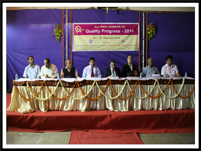 QUALITY PROGRESS - 2014 ORGANIZED BY INSTITUTION OF ENGINEERS AND SQMS